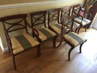 6 Reproduction Dining Chairs.