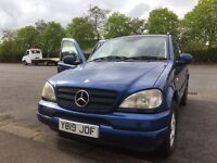Mercedes ML jeep Diesel 7 Seats manual parts available