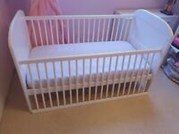 Great condition East cot bed 6months - 4 years