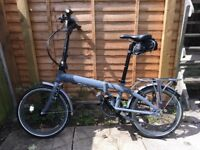 Tern Link P7i folding bike like Brompton