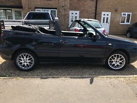 Vw golf 1.6 convertible 1999/T cheap reliable summer motoring! Long mot