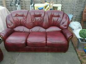 3 seater 2 single arm chairs