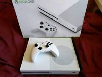 Xbox one s & around 90 games ( SWAP FOR XBOX ONE X OR PS4 PRO