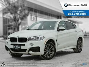 2016 BMW X6 Xdrive35i Local Car! M Performance Package