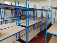 Rapid Racking RAPID2 Shelving 1980x1525x610mm 3 TIER 120KG Load per Shelf £100+ RRP 100+ AVAILABLE