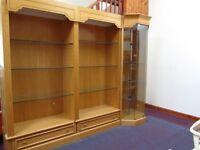 Large Shop Display Cabinets, Glass Shelves, Lighting