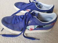 Limited edition suede Puma pumps