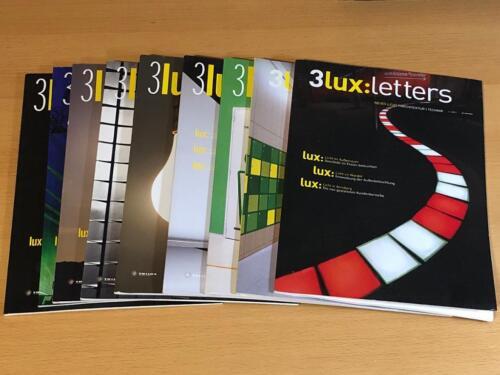 Architektur Magazin | 3lux Letters Das Architektur Magazin Zeitschrift 9 Hefte In