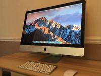 "Apple iMac 27"" 3.4GHz Quad Core i7 12GB RAM 1TB Storage + 4TB G-DRIVE Computer Desktop"