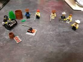 Lego Sheriffs & Bandits.
