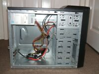 good condition advent SE2102 empty computer tower case with psu to clear