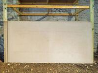 9.5mm plain plasterboard .... 4 sheets 2.4 x 1.2 size