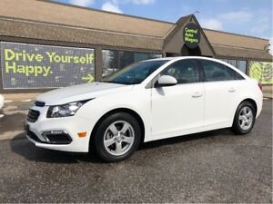 2016 Chevrolet Cruze LT / LEATHER / SUNROOF / HEATED SEATS
