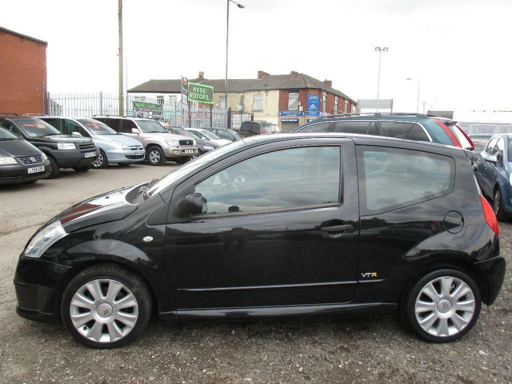 Citroen C2 1 4 Hdi Vtr 3dr Ac Black 2008 In Hyde