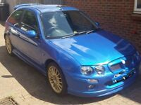 "MG ZR ( Rover ) 1.4 i Trophy Blue Sport Hatchback Mot till 5th Feb 2018 ( 3 Door ) 17"" Gold Wheels"
