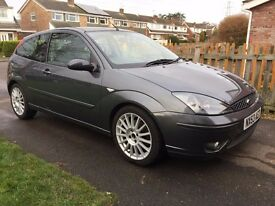 2003/53 Ford Focus ST 170 2.0 3 Door, Mett Grey, Low Miles , Full History, Long MOT