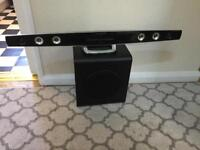 Sound System (TV, Music, etc.) with subwoofer