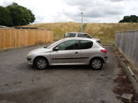 PEUGEOT206LX 1.2 3 DOOR HATCHBACK