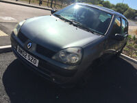 Renault clio 1.2 automatic LOW miles only 48,000 NEW MOT Clio Expression 16V Qs5