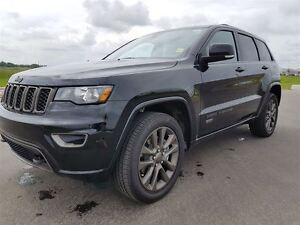 2017 Jeep Grand Cherokee LIMITED   UCONNECT   HEATED SEATS   BLU