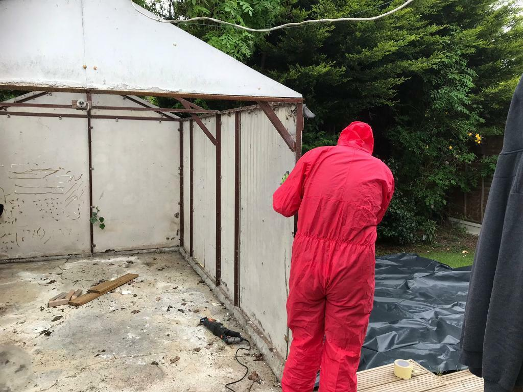 Asbestos Garage Removal And Concrete Garage Removal In Wickford