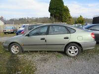 BREAKING - Toyota Avensis Vermont VVT-I 2001 1.8 Manual - all parts available