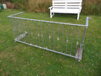 Wrought iron balcony. Galvanized heavy duty steel. Quality balcony, first to see will but. £150