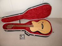 Yamaha AEX500-N Nylon Strung Electro Acoustic Guitar