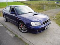 SUBARU LEGACY 2.0 265 BHP TWIN TURBO AWD B4