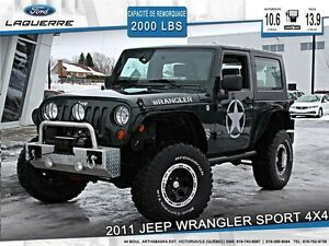 2010 Jeep Wrangler **SPORT*4X4*AUTOMATIQUE**