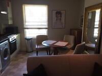 One bed 1st floor Vict Conv flat 8 Mins walk to Surbiton Stat, cent heat, modern kit, bath, intercom