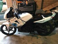 Lexmoto xtr xtrs 125cc only 8000kmh 4500miles from new moped motorbike