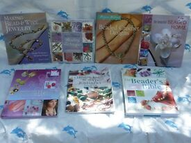 7 Assorted Jewellery and bead books