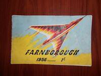 Vintage 1956 airshow programme