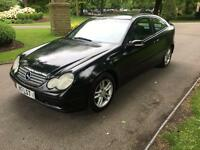 2001.P/PLATE MERCEDES C220 CDI COUPE 6 SPEED MANUAL