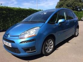 Citroen C4 Picasso exclusive 1.6 diesel automatic
