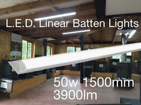 LED 50W Linear Batten Light (excellent tube replacement) L.E.D. Lighting from Bright Spark Services