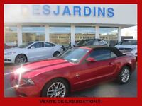 2013 Ford Mustang Convertible V6  *INSPECTÉ* CUIR /  7700KM!!
