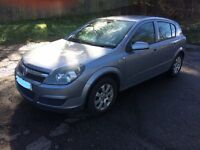 2006 5 door Vauxhall Astra. Low mileage. Very nice condition. Very well maintained (see below).
