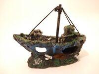 Shipwreck decoration for Fish Tanks