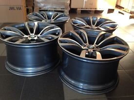 New 20 inch rims For BMW X5 X6 E70 E71 F15 F16 5x120 wheels + tyres UK Delivery