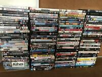 100 plus DVDs, various
