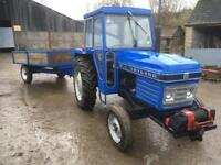 Leyland 255 and hydraulic tipping trailer