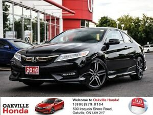 2016 Honda Accord Coupe V6 Touring 6MT 1-Owner|Clean Carproof|6s