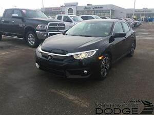 2016 Honda Civic EX-T. Heated seats, rearview camera.