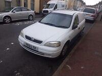 Vauxhall astra van 1.7 envoy