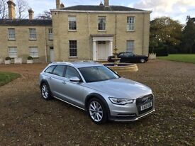2013 '13' AUDI A6 3.0 ALLROAD ONE PRIVATE OWNER FROM NEW FULL AUDI SERVICE LOVELY SPEC MODEL