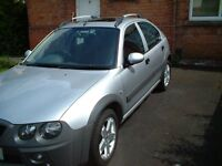 Silver Rover Streetwise 1.4'S, 5dr Hatchback With Electric SunRoof / Windows, Low Mileage, Long MOT