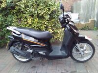 2013 Peugeot Tweet 125 scooter, new 1 year MOT, low mileage, very good runner, bargain, ride away,,
