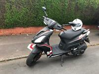 125cc motorcycle scooter Ajs A9 2016 Reg